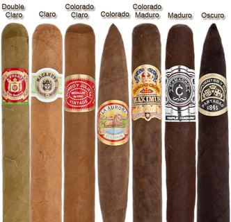 Cigar colors