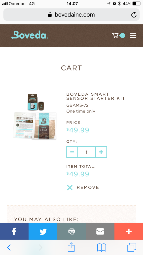 Boveda - From app